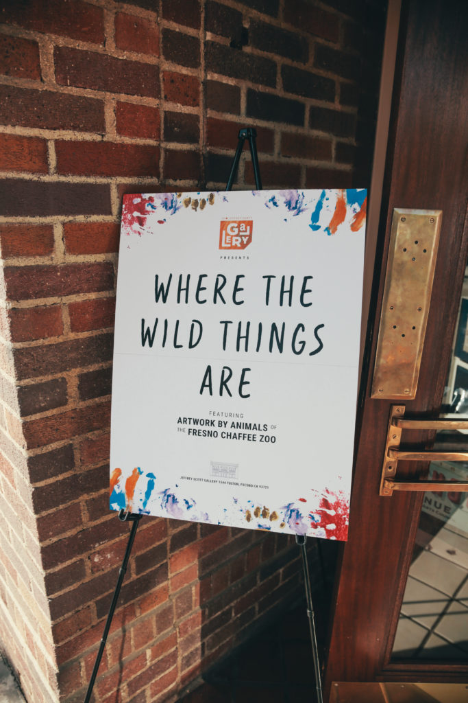 Where the Wild Things Are sign.