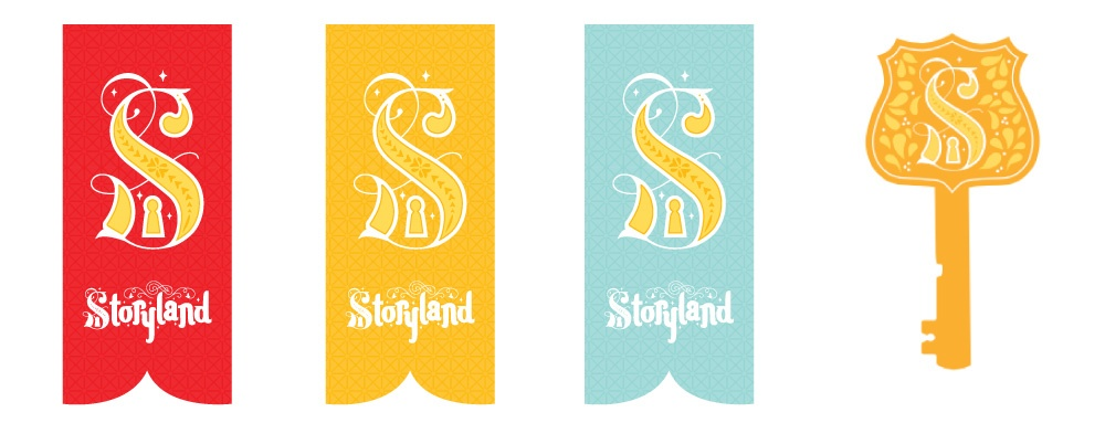 Storyland banners