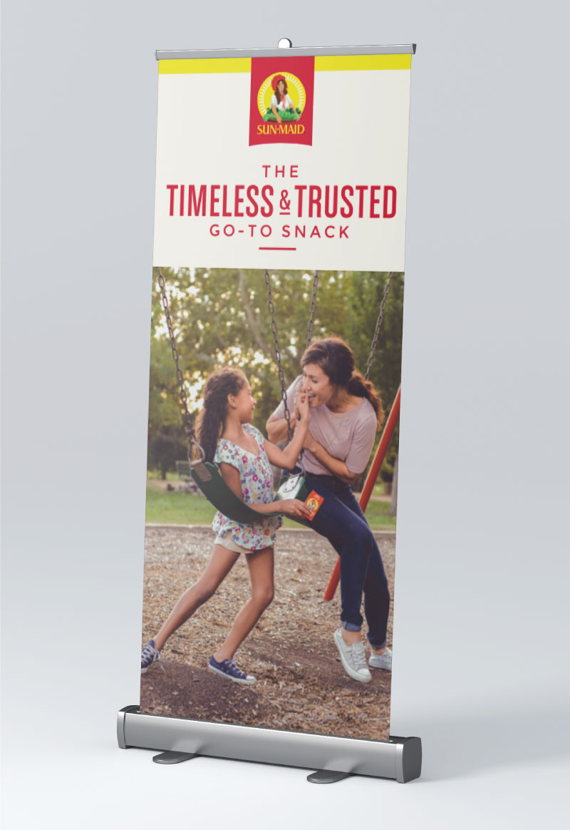 Sun-Maid timeless & trusted