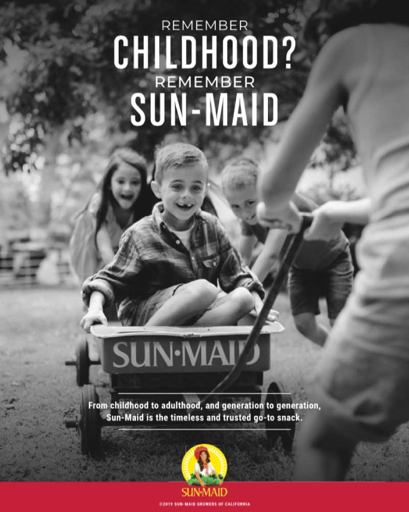 Remember Childhood Sun-Maid