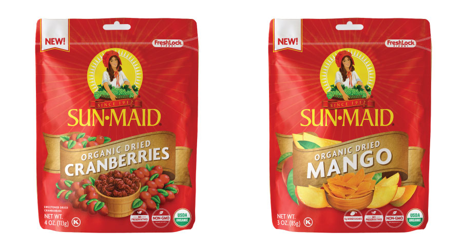 Sun-Maid Organic dried mango